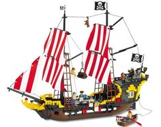 LEGO Pirate Ship #LoveLEGO: I have this ship. I believe I actually have two.