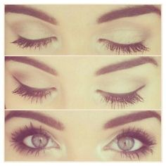 Neutral eyes ❤ liked on Polyvore featuring makeup, eyes, beauty, eye makeup, pictures and backgrounds