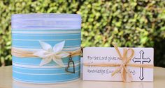 Scripture Gift Blessings Jar with Bible by SweetHomeTreasures, $14.00