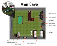 build a man cave shed