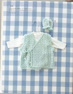 Crochê Tricô - Gráficos: Blusinhas de Bebê