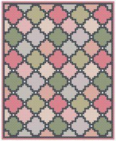 Moroccan C2C crochet pattern Corner to corner C2C by MissCro
