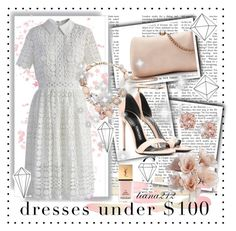 """""""Dress under $100"""" by tiana212 ❤ liked on Polyvore featuring LC Lauren Conrad, Tom Ford, Chicwish, Umbra, Yves Saint Laurent and Oscar de la Renta"""