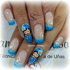 Amazing Art, Diana, Nail Designs, Nail Art, Nails, Stickers, Best Nails, Long Nails, Ongles