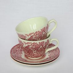 Kitsch English cup and saucer