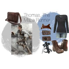 """""""Thomas, The Maze Runner"""" by cool-lani on Polyvore"""