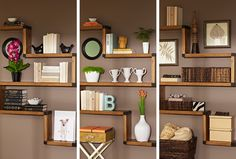 Arranging shelves is a task that can be more difficult than it looks. We'll show you three ways to create functional arrangements that look effortless.