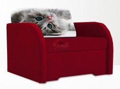 Od ręki, transport GRATIS! Sofa 1-osobowa Bali I (Kot, jak na zdjęciu)