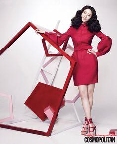이연희가 말하는 뷰티 아이콘의 5가지 미덕, Cosmopolitan Korea February 2013