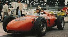 Carel Godin de Beaufort, Nurburgring August 2nd  1964, Porsche 718... One of the last pics