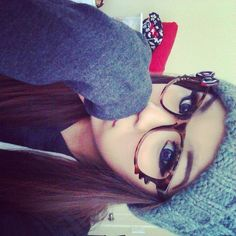 #beanie #hat #sweater #hellokitty #glasses #hype #hipster