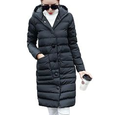59.31$  Watch now - http://alinri.worldwells.pw/go.php?t=32688751414 - 2016 New Fashion Winter Women Cotton Padded Jacket Slim Long Down Cotton Coat Hooded Warm Down Parkas Female High Quality PW0059