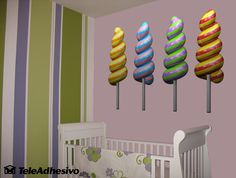 Adesivi per Bambini Lollipops