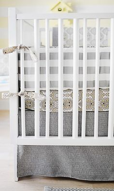 City Baby Neutral Crib Bedding Collection from New Arrivals Inc