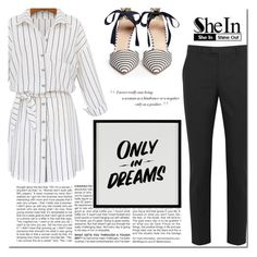 """SheIn Contest"" by little2amsterdam ❤ liked on Polyvore featuring BCBGMAXAZRIA, RED Valentino, Baron Von Fancy and J.Crew"
