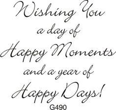Happy Birthday Verses, Short Birthday Wishes, Birthday Verses For Cards, Birthday Card Messages, Birthday Words, Happy Birthday Wishes Cards, Birthday Card Sayings, Birthday Wishes Quotes, Birthday Greetings