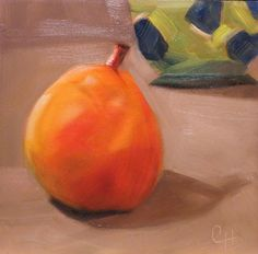DPW Fine Art Friendly Auctions - Ripe Pear by Claire Henning
