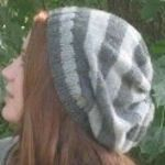 Several great knitted hats (some simple, some a bit challenging)