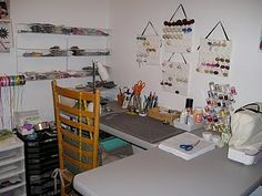 Another super organised sewing room