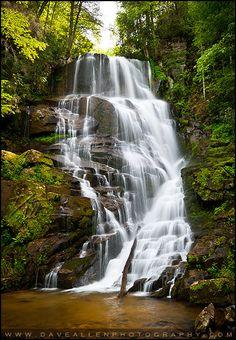 Eastatoe Falls - Western North Carolina Waterfall