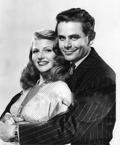 Image result for rita hayworth and glenn ford in gilda