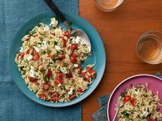 Get this all-star, easy-to-follow Toasted Orzo Salad recipe from Food Network Kitchen