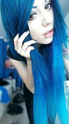 Blue Hair Love