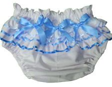 Adult Baby Sissy DRESS UP ~ VANILLA CREAM with BLUE SPRINKLES Diaper Cover Panty