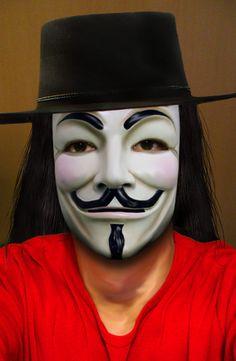 """Guy Fawkes aka """"V"""" (V for Vendetta)"""