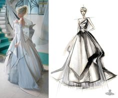Anybody playing final fantasy xv? I've been dying to see lady Lunafreya's dress and Vivienne Westwood's Facebook page announced its their design