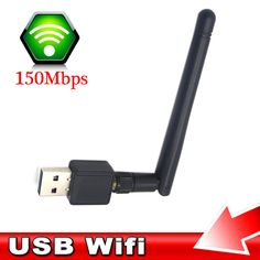 Outdoor Long Distance USB Wifi Antenna To 2500m 2.4GHz 150M Free Shipping!
