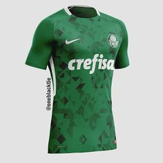 14ab44476e7eb Show de Camisas  Designer cria camisas de clubes brasileiros inspiradas na  Nike - Parte 02
