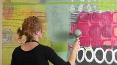 A colorful glimpse into the painting process of artist Addie Lynn Rementer. The camera captures the evolution of a painting from start to finish showing the ...
