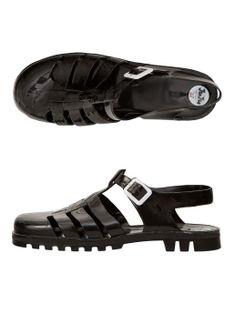 Juju Maxi Jelly Sandals. #AmericanApparel