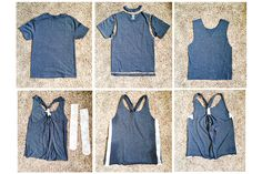 0b7fa08f452a6 8 Best shirt into tank top images