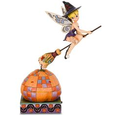 4016578 Halloween Pixie Takes Flight Tinker Bell Witch Bell Witch, Disney Figurines, Disney Traditions, Disney Fairies, Disney Merchandise, Disney Halloween, Holiday Fun, Cute Cats, Walt Disney