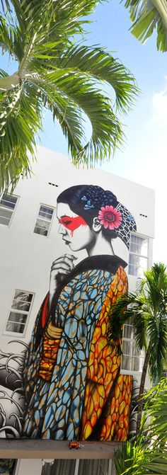 Street art by FIN DAC. Fashion illustration on Artluxe Designs. #artluxedesigns