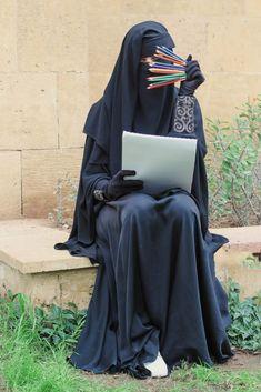 40 Under Borka Ideas Muslim Women Niqab Hijab Niqab
