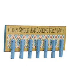 laundry room DIY: 'Looking for a Mate' Sign | Daily deals for moms, babies and kids