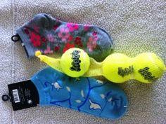 Easy, homemade, fun dog toys!