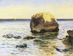 Ferdynand Ruszczyc. Skala w morzu