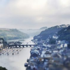 Looe Harbour, Cornwall Looe Cornwall, England And Scotland, Holiday Destinations, Favorite Holiday, Great Britain, River, London, Country, Heart