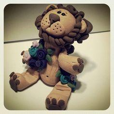 Little Lion Business Card Holder