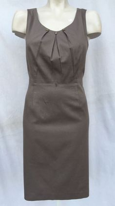 Antonio Melani Studded Gathered Straight Dress Sz 10 | eBay                                                                                                                                                                                 More