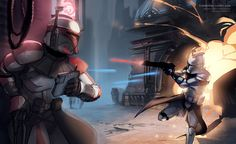 Clones in Combat | Publications source unknown please send credits info to Optimystique1 thanks.