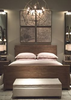 Rooms  Restoration Hardware bedding Home Sweet Pinterest hardware and