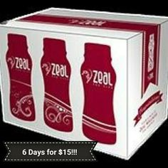 Try Zeal Wellness with 6 single bottles serving pack, and see how your body likes it. The pack includes all 3 different flavors. Start today in your journey to wellness. Puerto Rico, Zeal Wellness, 6 Pack, Multi Level Marketing, Whole Food Recipes, Healthy Recipes, Health And Beauty, Canning, Day