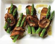 Asparagus Crostini with Pancetta