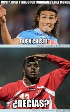Otro meme del Uruguay-Costa Rica
