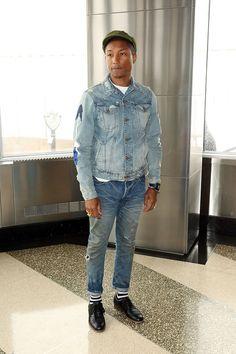 1 an de mode avec Pharrell Williams